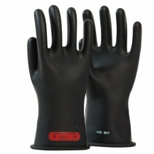 Class 0 Rubber Glove 11″ Length, 1,000 Max Use Voltage